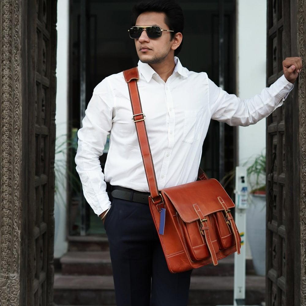 Crossbody Leather Bag